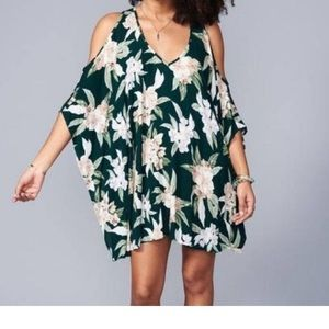 NWT SHOW ME YOUR MUMU FLORAL TUNIC BLOUSE …